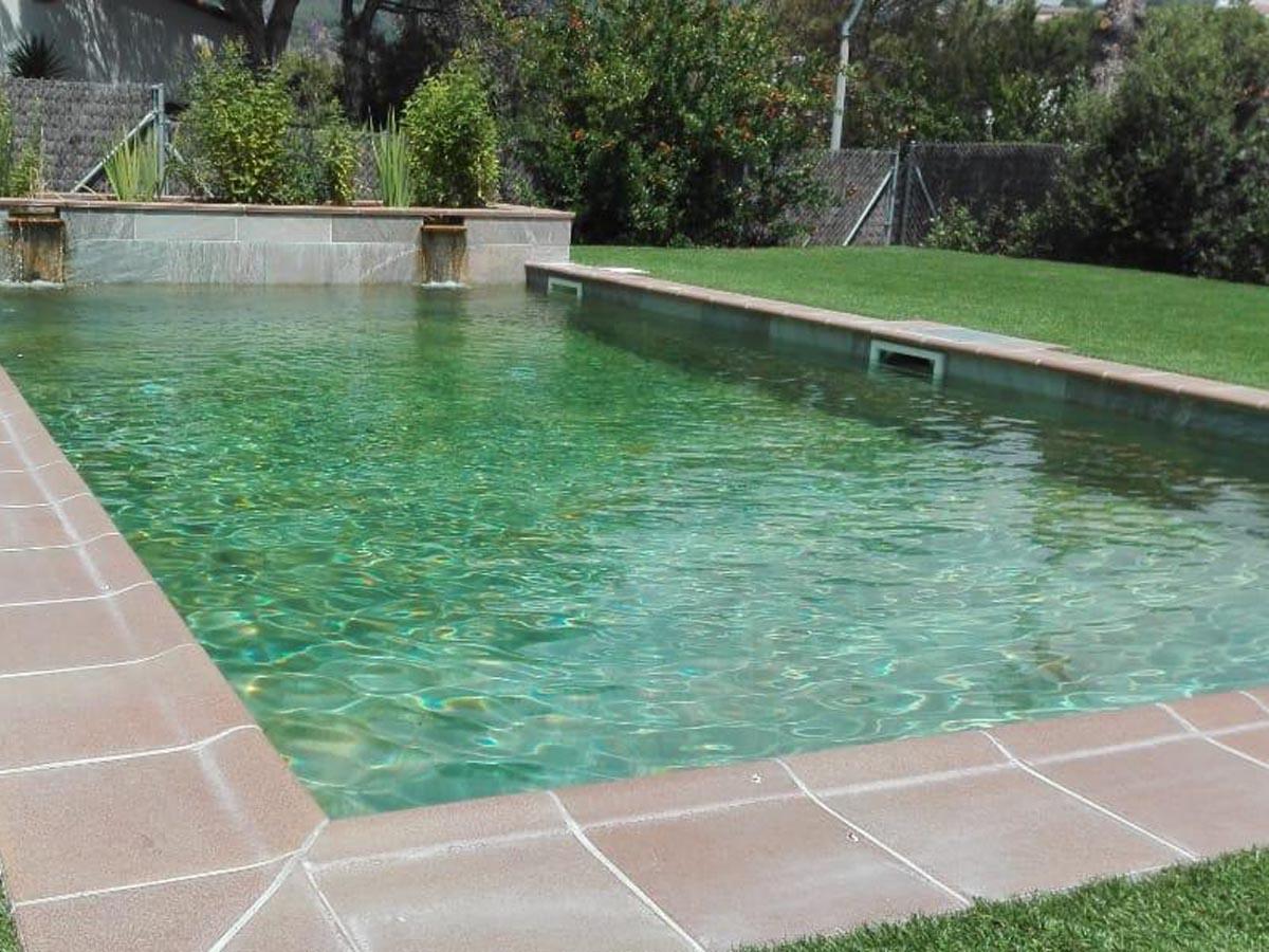 construcción de piscinas Naturales
