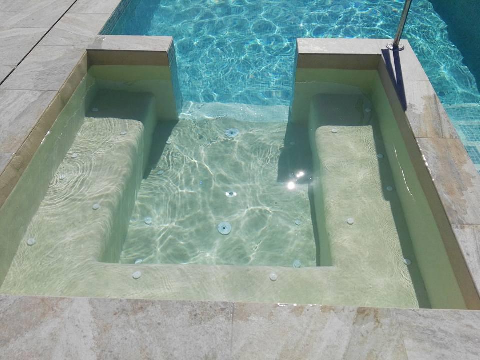 Construcción de piscinas de Arena